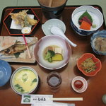 白城屋 - 料理写真:夕食