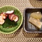阿部寿司 - お通し