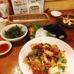 南風花 - 《定番沖縄料理を色々と…》
