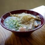 おくのうどん店 - 料理写真:■さつま揚げ天ぷらそば 310円