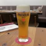 サクサク亭 - 生ビール