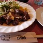 ステーキレストラン がんねん - 料理写真:ガーリックランチ