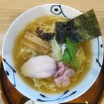 麺や 空月 - 鶏清湯らーめん醤油味:680円