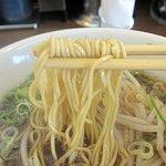 ホっポ屋 - しょうゆラーメン(濃い口)細めのストレート麺