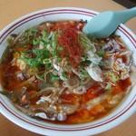 味の鈴乃屋 - 酸辣湯麺(サンラータンメン)1000円
