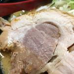麺処 花田 - チャーシューなかなかのボリュームです。