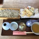 蕎麦きり さいとう - 「天せいろ」1440円