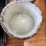 和泉庵わかや - 蕎麦焼酎蕎麦湯割り