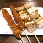 香香坊 - 羊肉串と豚バラ串