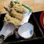 96714320 - 牡蠣の天ぷらアップ