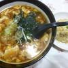 レストラン大手門 - 料理写真:'18/11/18 トーフ&半チャ(税込800円)