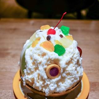 白熊菓琲 - 料理写真:■白熊 レギュラー 720円