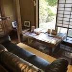 山の飯 沙羅 - 待合室