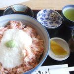 oshokujidokoroyamayoshi - カニとろろ丼(1260円)