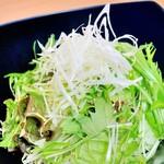 グリーンチョレギサラダ