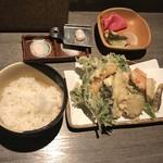 手打蕎麦 しずおか - 天ぷらセット