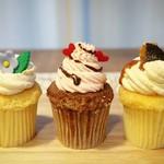 Cup cake 3rd Street - ミルクティー、ストロベリー、キャラメル