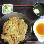 海鮮いづつ - 地イカのかき揚げ丼定食