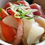 うどん×ちょい呑み 川崎うどん - ミニ海鮮丼