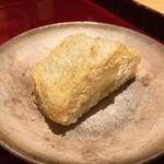銀座 しのはら - 海老芋の唐揚げ
