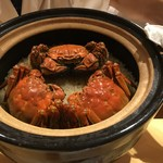 銀座 しのはら - 上海蟹のご飯