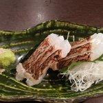 日本酒原価酒蔵 - 真鯛のお造り@790