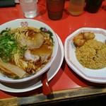 中華そば ふじい - 昼飯セットA880円