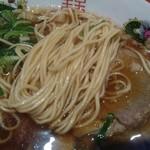 中華そば ふじい - 麺アップ