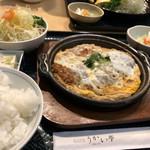 96726744 - カツ煮定食