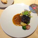 B - 牛サガリのステーキ