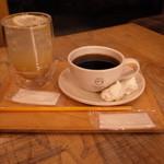 ククーカフェ - 自家製ジンジャエールとブレンドコーヒーS