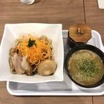 ライズ アゲイン - 料理写真:味玉つけ麺