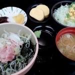 食事処 七福 - 料理写真:ミニネギトロ丼
