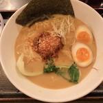 だるま八 - 料理写真:期間限定 白胡麻坦々麺♡うましっ