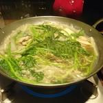 全席個室 三陸海鮮 牛たん 青葉の蔵 - 仙台せり鍋