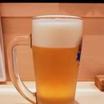 96733935 - 生ビール・中600円(税込み)