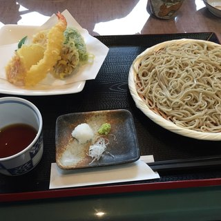 こぼり - 料理写真:もりてんぶら(そば大)1,400円