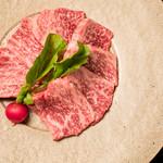 """焼肉 喰心 - 【黒毛和牛""""雌牛""""赤身肉】"""