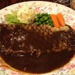 グルメ - 熊野牛ロースステーキ、単品2100円♪