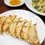 焼賣太樓 - グリーン炒飯、餃子