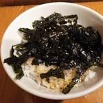 牛繁 - 韓国海苔タレご飯