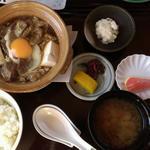 峠の茶屋 蔵 - 牛肉の煮込み定食  1080円