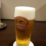 とんかつ 旭軒 - 生ビール:500円