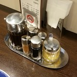 とんかつ 旭軒 - 調味料