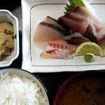 旬鮮館 - 刺身定食