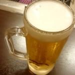 松阪牛たんど - 生ビール
