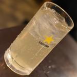 寿司居酒屋のぼる - レモンサワー(180円)