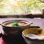 布引雄滝茶屋 - 湯豆腐