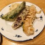 和食堂 たこ井 - 旬の野菜の天ぷら