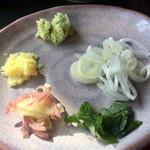 蕎鈴庵 - 薬味は 5種類